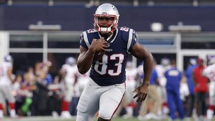 Patriots TE Dwayne Allen.
